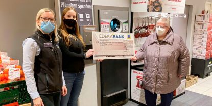 Neuenhauser Brotkorb freut sich über 1500-Euro-Spende